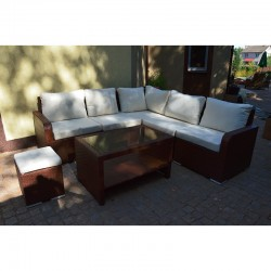 Набор мебели 03 из ротанга (коричневый)