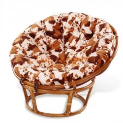 Кресло из ротанга «PAPASAN» с цветной подушкой