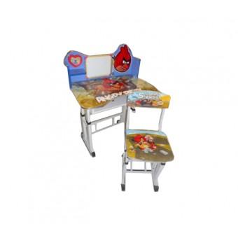 "Детский столик со стулом ""Angry birds"""