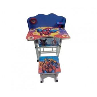 """Детский столик со стулом """"Человек паук"""""""
