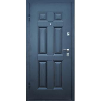 Дверь металлическая Промет Виктория (беленый дуб)