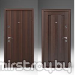 Дверь входная металлическая  Американский орех