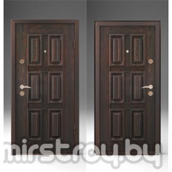 Дверь входная металлическая  Золотое дерево