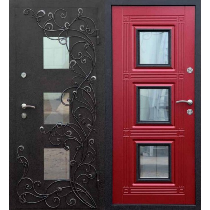 образцы входных дверей для дома