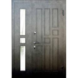 Двери входные двустворчатая металлическая Ваша рамка №27 (РБ)