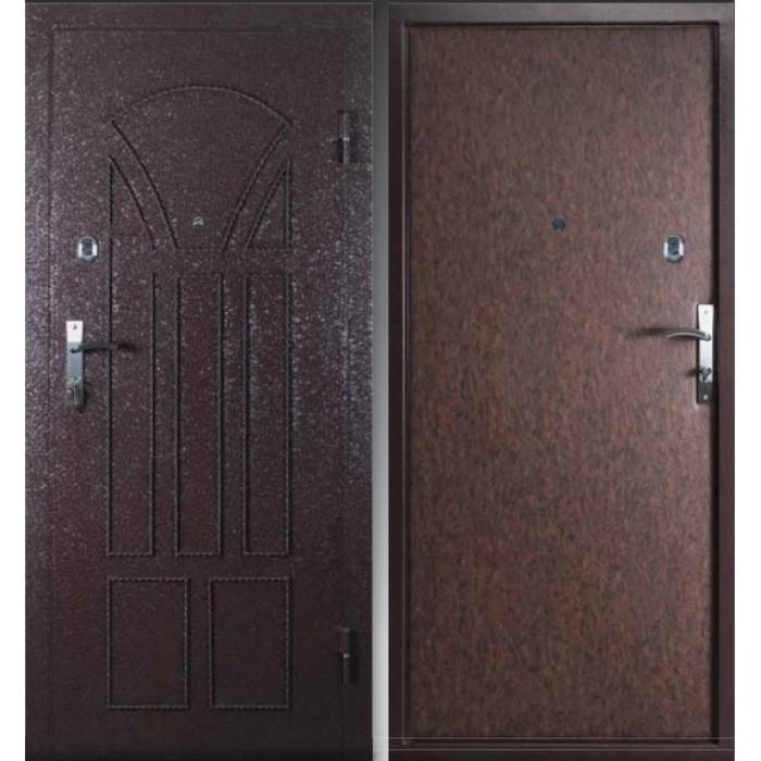 металлические двери противоударные