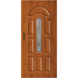 """Стальная дверь """"Гая 303"""" с ПВХ панелью"""