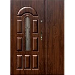 """Стальная дверь """"Гая 403"""" с ПВХ панелью"""