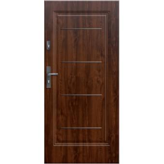 """Стальная дверь """"Юпитер 202"""" с ПВХ панелью"""