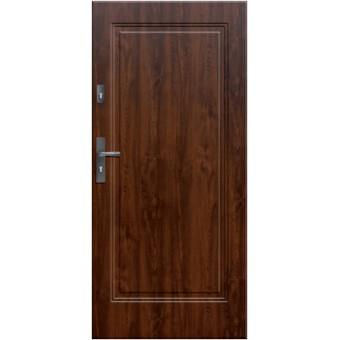 """Стальная дверь """"Юпитер 203"""" с ПВХ панелью"""