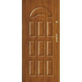 """Стальная дверь """"Юпитер 101"""" с ПВХ панелью"""