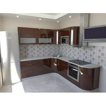 Кухня на заказ проект №58