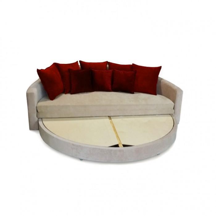 купить диван круглый шик в минске раскладной и с нишей для белья