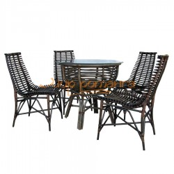 Обеденный комплект «NICHOLAS» со стульями