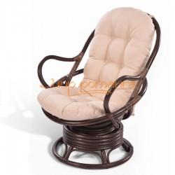 Кресло из ротанга 05/01 вращающееся