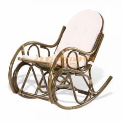 Кресло-качалка из ротанга 05/04 с подушкой