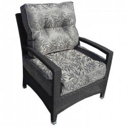 Кресло Карибы из искусственного ротанга (венге)