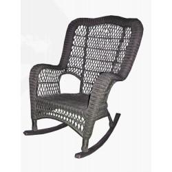 Кресло качалка Барское из искусственного ротанга