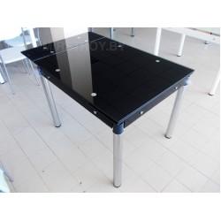 Стол кухонный стеклянный 6069A раскладной