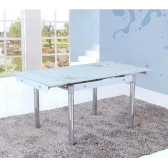 Стол кухонный стеклянный 6069A салатовый