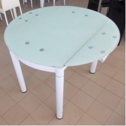 Стол кухонный стеклянный 6069-2 Белый