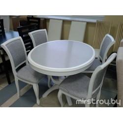 Стол обеденный Камелия О с камнем