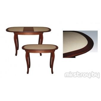 Стол обеденный Азалия 1000х700 с камнем