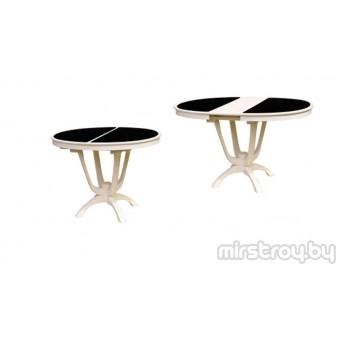 Стол обеденный Камелия со стеклом
