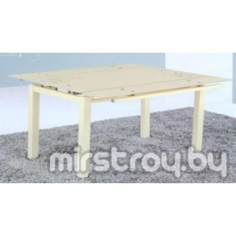 Стол кухонный стеклянный 6070-2 Бежевый