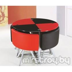 Стол со стульями DT 536 Круглый