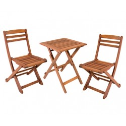 Стол и 2 стула ROUEN, Garden4you 06237, 06238