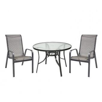 Стол и 4 стула CALGARY, Garden4you 13352, 13351