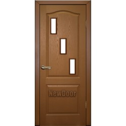 Дверь межкомнатная МДФ тонированная №10