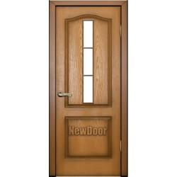 Дверь межкомнатная МДФ тонированная №12