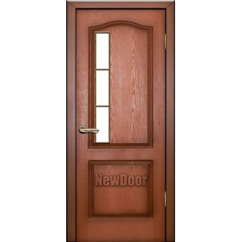 Дверь межкомнатная МДФ патина №13