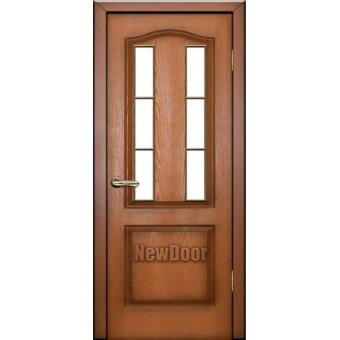 Дверь межкомнатная МДФ крашеная №14