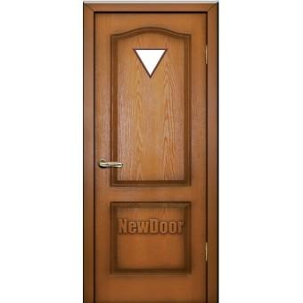 Дверь межкомнатная МДФ патина №17