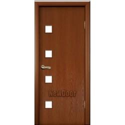 Дверь межкомнатная МДФ тонированная №21