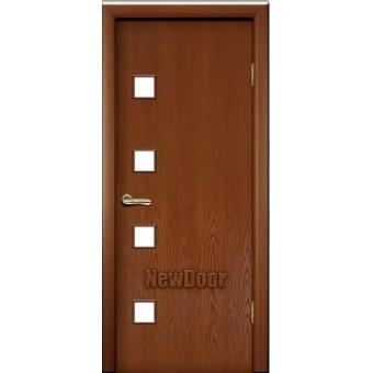 Дверь межкомнатная МДФ крашеная №21