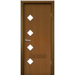Дверь межкомнатная МДФ крашеная №25