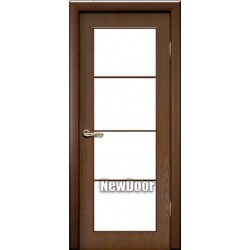 Дверь межкомнатная МДФ тонированная №26