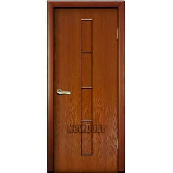 Дверь межкомнатная МДФ патина №33