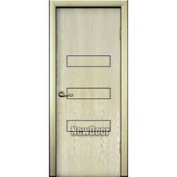 Дверь межкомнатная МДФ тонированная №44