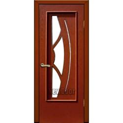 Дверь межкомнатная МДФ крашеная №58