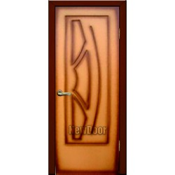 Дверь межкомнатная МДФ тонированная №59