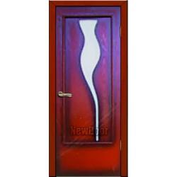 Дверь межкомнатная МДФ крашеная №62