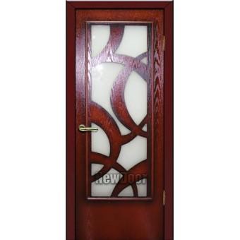 Дверь межкомнатная МДФ патина №69