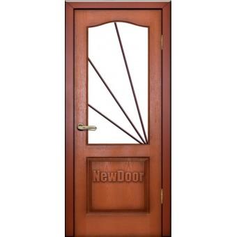 Дверь межкомнатная МДФ крашеная №6
