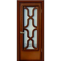 Дверь межкомнатная МДФ тонированная №71