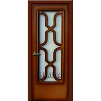 Дверь межкомнатная МДФ патина №71